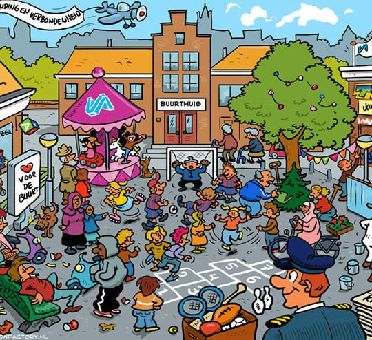 the_cartoon_factory_cartoonist_cartoon_poster_gemeente