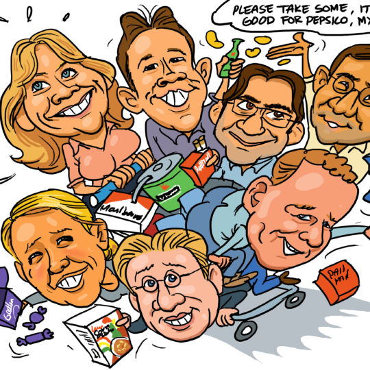 the_cartoon_factory_karikaturist_groepskarikatuur_1