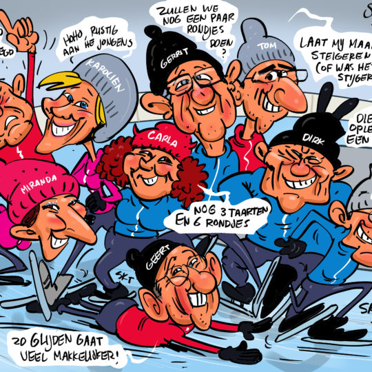 the_cartoon_factory_karikaturist_groepskarikatuur_cadeau