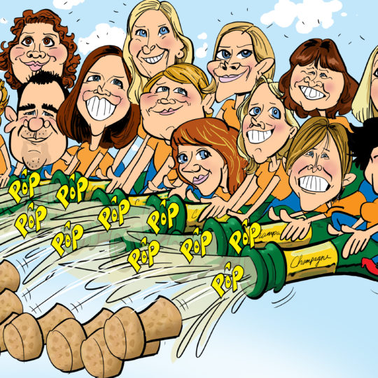 the_cartoon_factory_karikaturist_groepskarikatuur_jubileum_2
