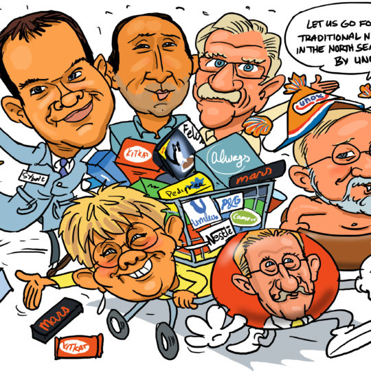 the_cartoon_factory_karikaturist_groepskarikatuur_kerstkaart_2