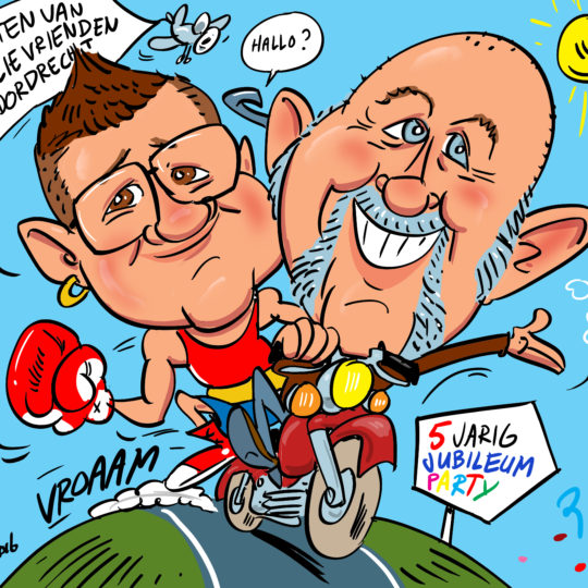 the_cartoon_factory_karikaturist_karikatuur_van_foto_getrouwd_stel